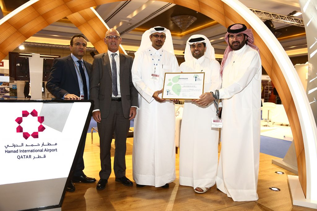 Hamad International Airport first GCC airport to achieve Level 3 of ACI Airport Carbon Accreditation