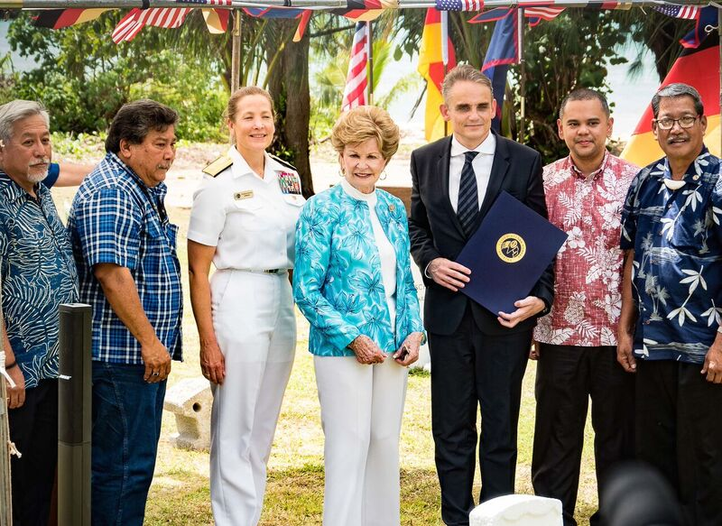 Guam remembers the SMS Cormoran II at Sea