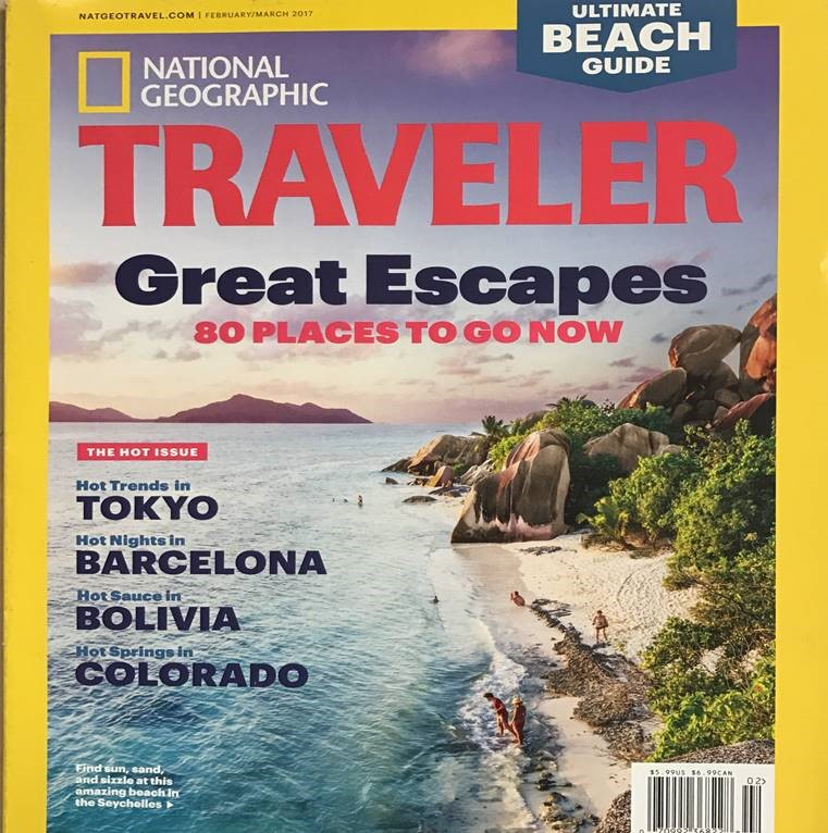 Seychelles' Anse Source d'Argent beach features in top travel magazine