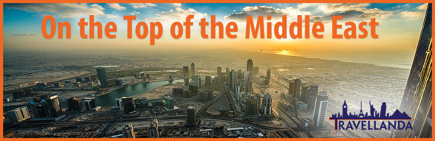 Leading bed bank on top in Middle East