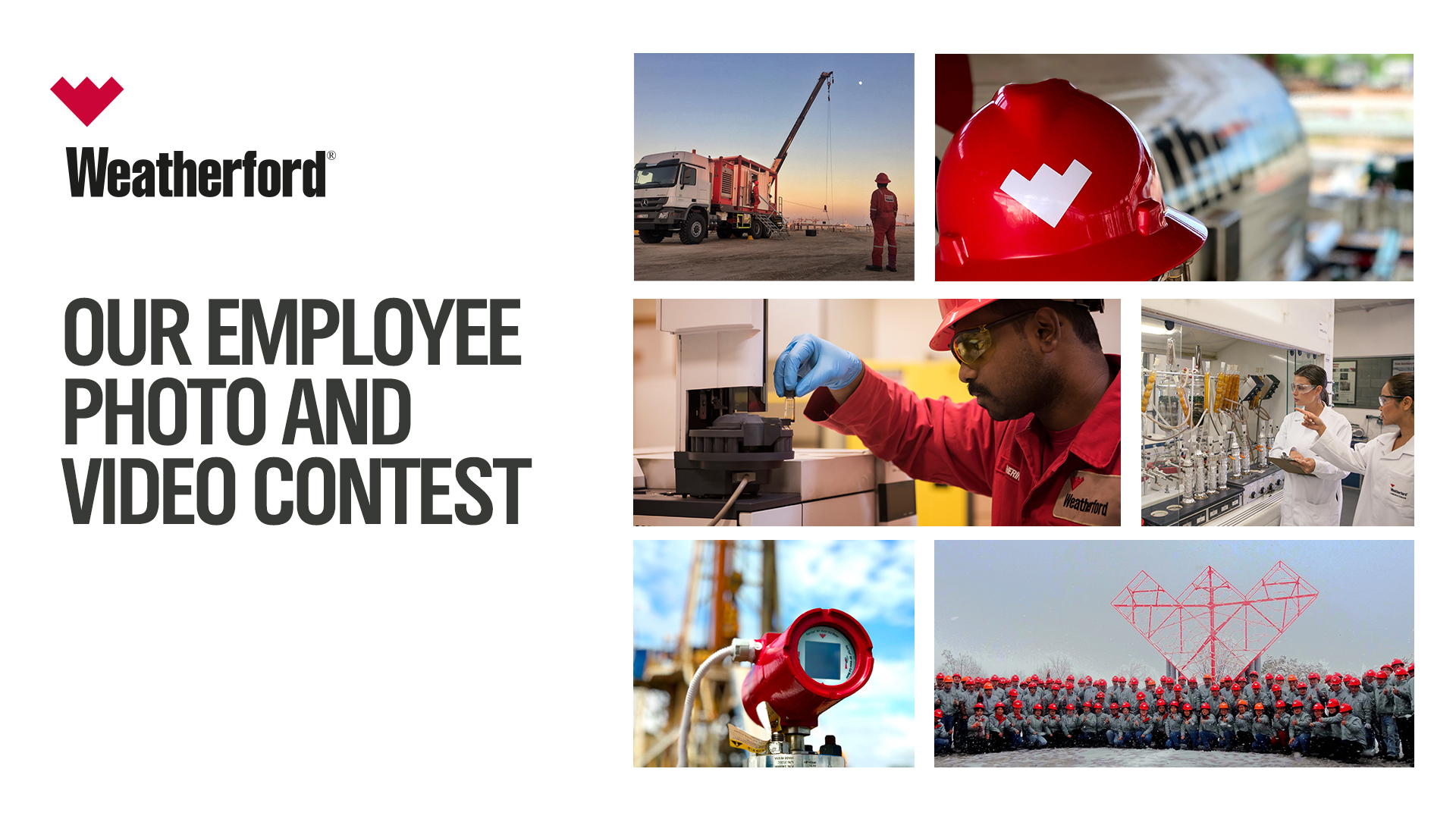 Weatherford Employee Photo Video Contest