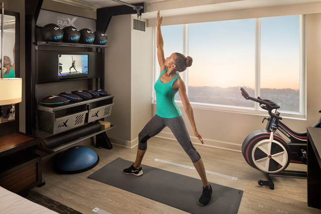 It's fitting that Arlington is the country's most fit city and is minutes from Hilton McLean Tysons Corner, where Hilton's Five Feet to Fitness concept was born. Credit: Hilton