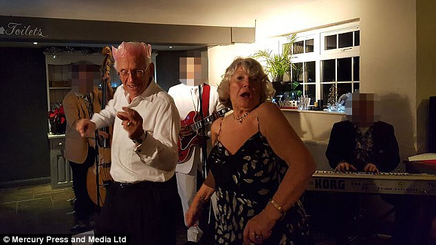 Ian and Pamela were described by friends as fun-loving and were thought to always be the initial people to get right up to dance