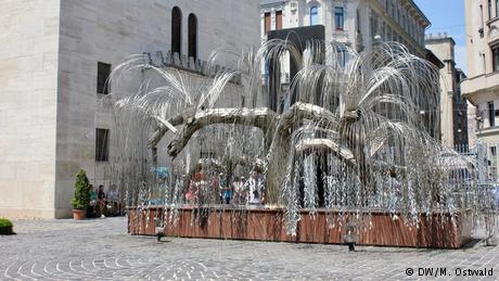 Ungarn | Jüdische Viertel in Budapest | Holocaust-Mahnmal (DW/M. Ostwald)