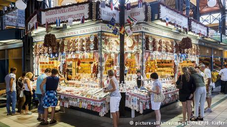 Ungarn Budapest zentrale Markthalle (picture-alliance/imageBROKER/S. Kiefer)