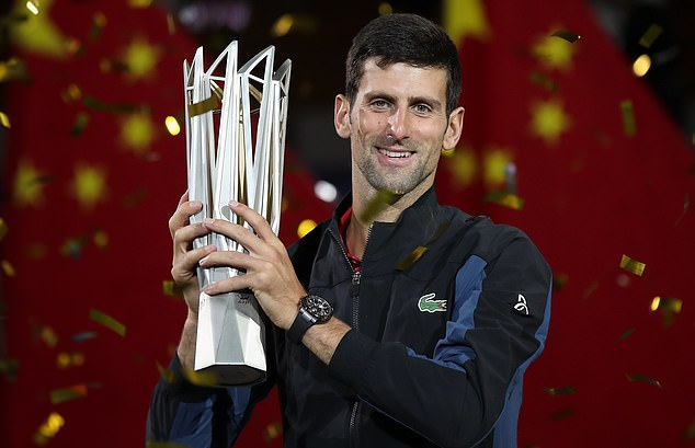 He made the 20,000km trip to Shanghai recently to watch Novak Djokovic win the Masters