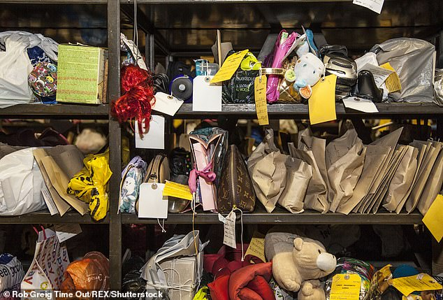 Transport for London has made almost £500,000 from lost property fees
