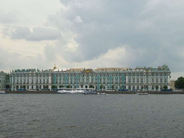 6. In St. Petersburg, I made a mistake that prevented me from visiting The State Hermitage, the second largest art museum in the world: not buying tickets ahead of time. The line to buy tickets was three hours long.