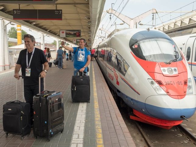 """12. When taking the Sapsan bullet train in Russia, I accidentally booked my train ticket on a third-party website called RussianTrains.com, which charged me double the fare for """"helping"""" me book. Next time, I'll make sure its the official site."""