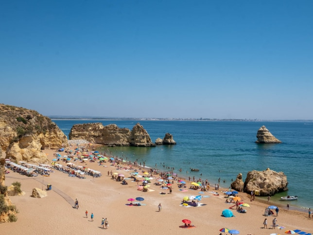 8. I visited Portugal's famous beaches in August, the month that a lot of Portuguese take their holidays. That meant that I wasn't only fighting international tourists for beach property and resort rooms, but domestic ones, too. The next time, I'll check a country's calendar before booking.