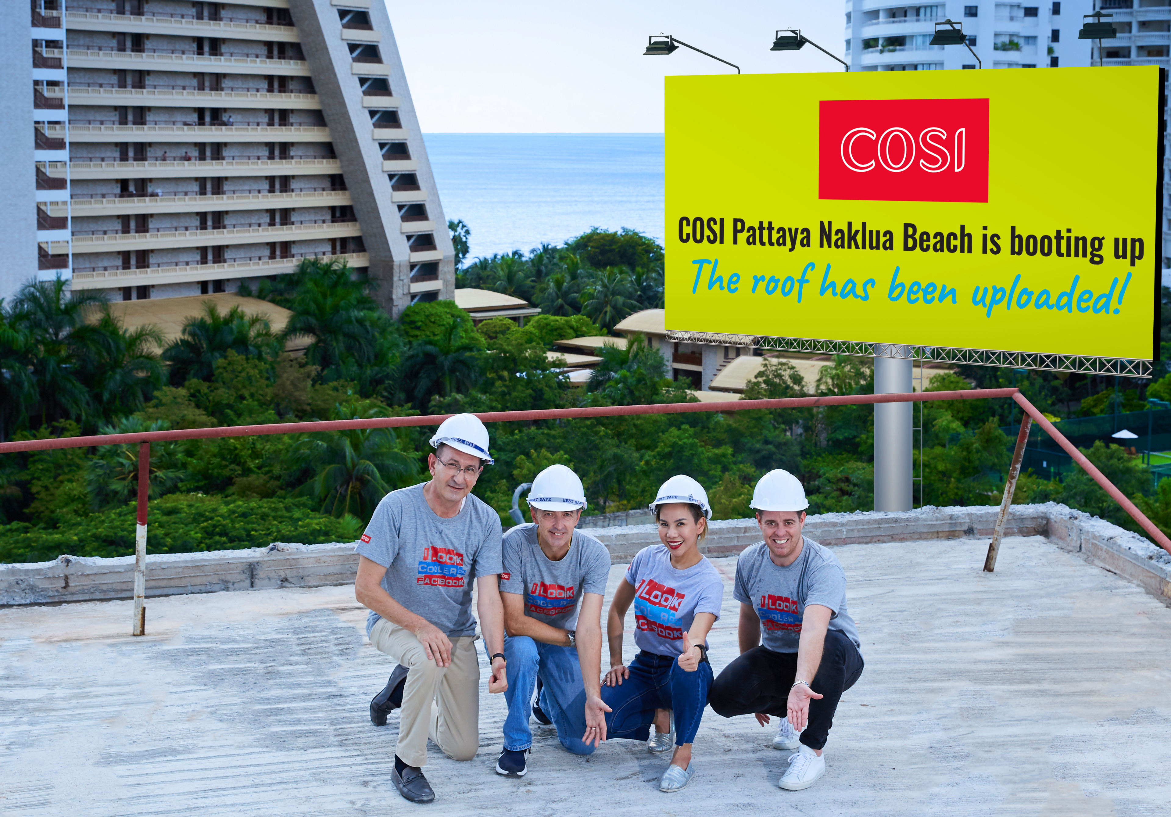 COSI Pattaya Naklua Beach raises the roof