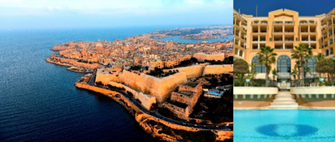 Valletta and Corinthia Hotel St George's Bay