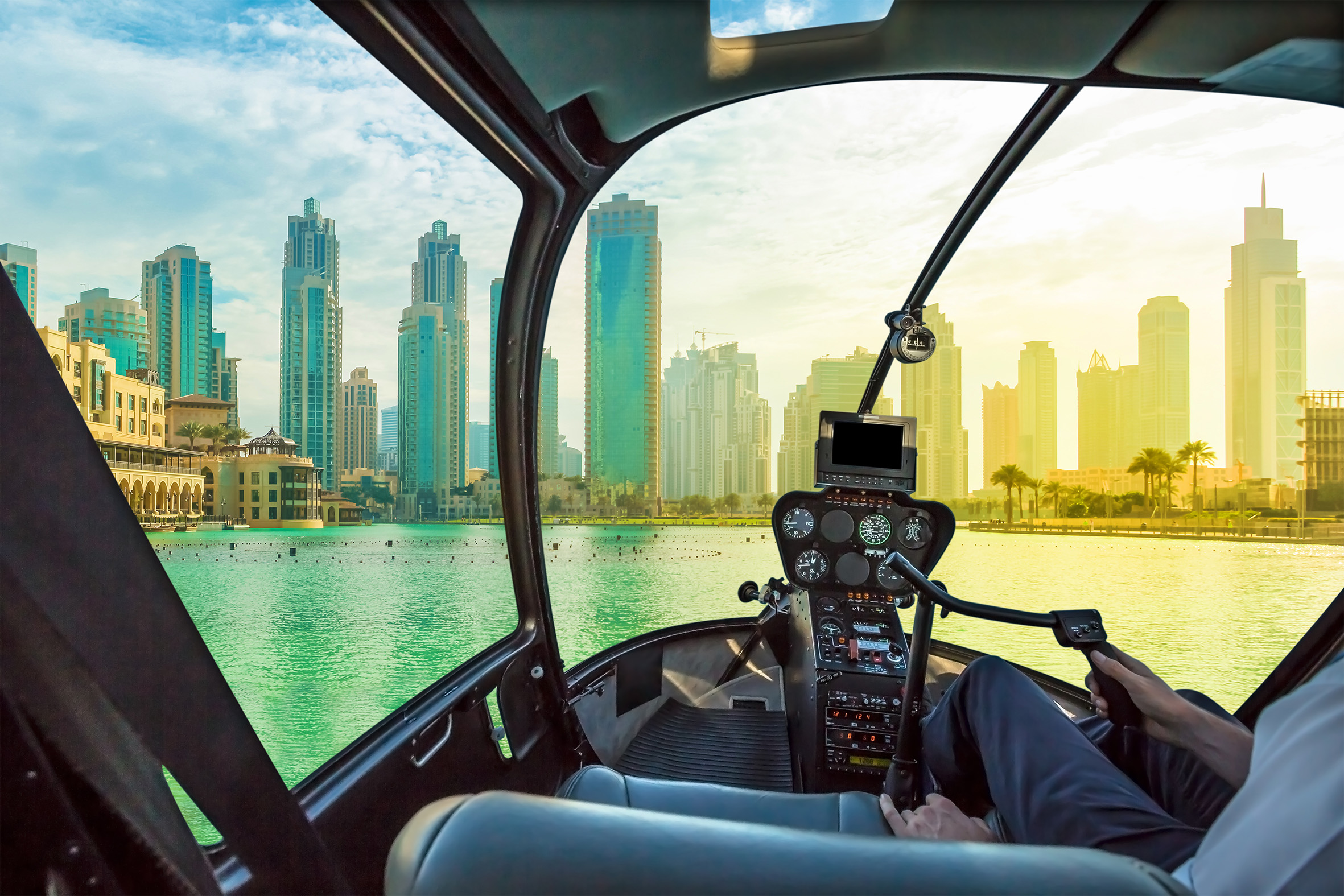 The land of the future in the middle of the desert: the wonders of technology in Dubai