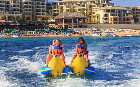 Adults on Banana Boat