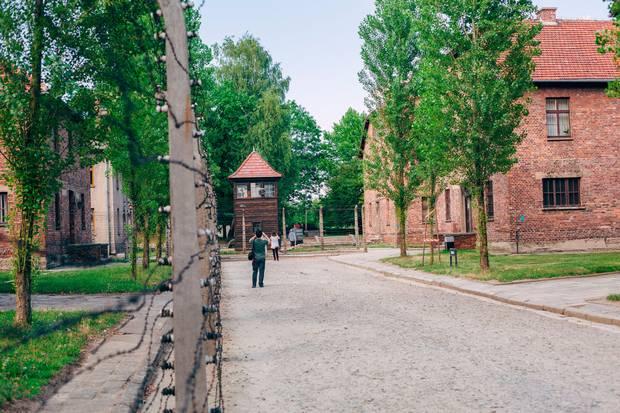 Auschwitz. PA Photo/Polish Travel Organisation.