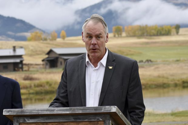 Interior Secretary Zinke Was Probed Over Travel With Wife