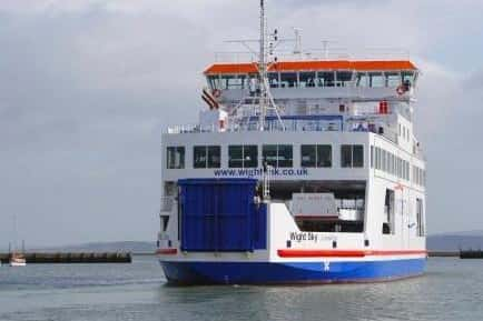 Wightlink ferry services are being delayed this afternoon.