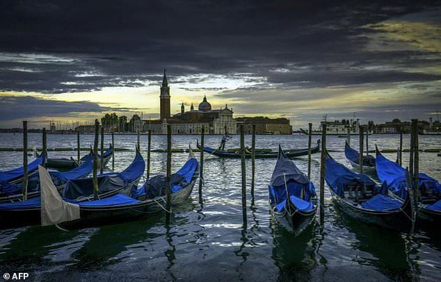 The many canals of Venice are a popular tourist draw