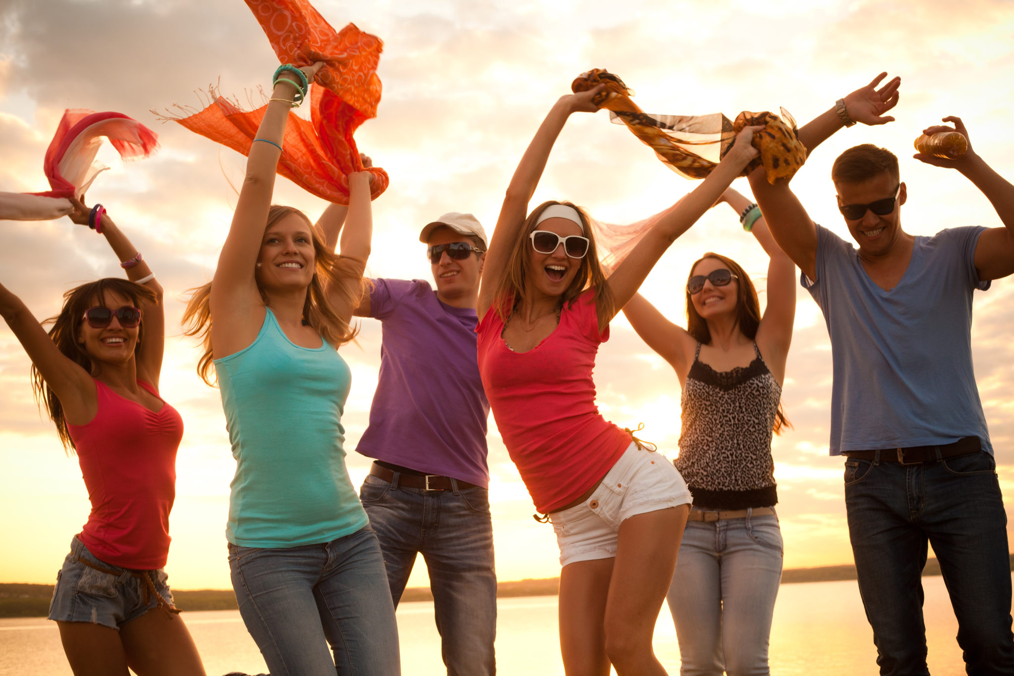 planning a vacation with your girl gang