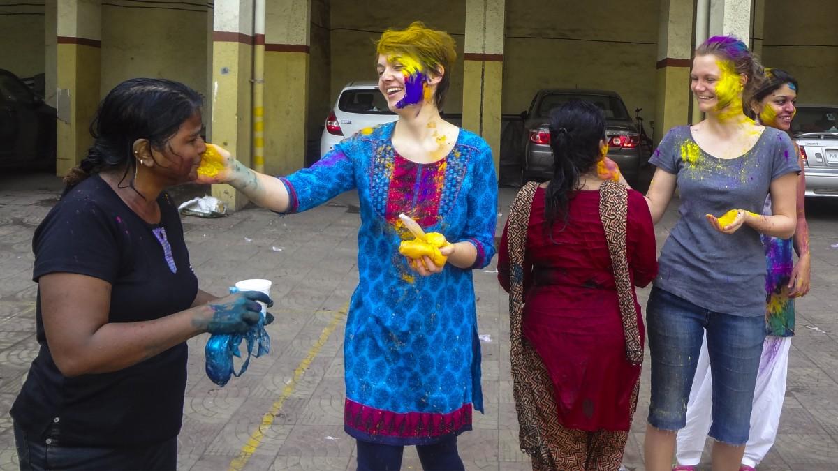Indian color festival