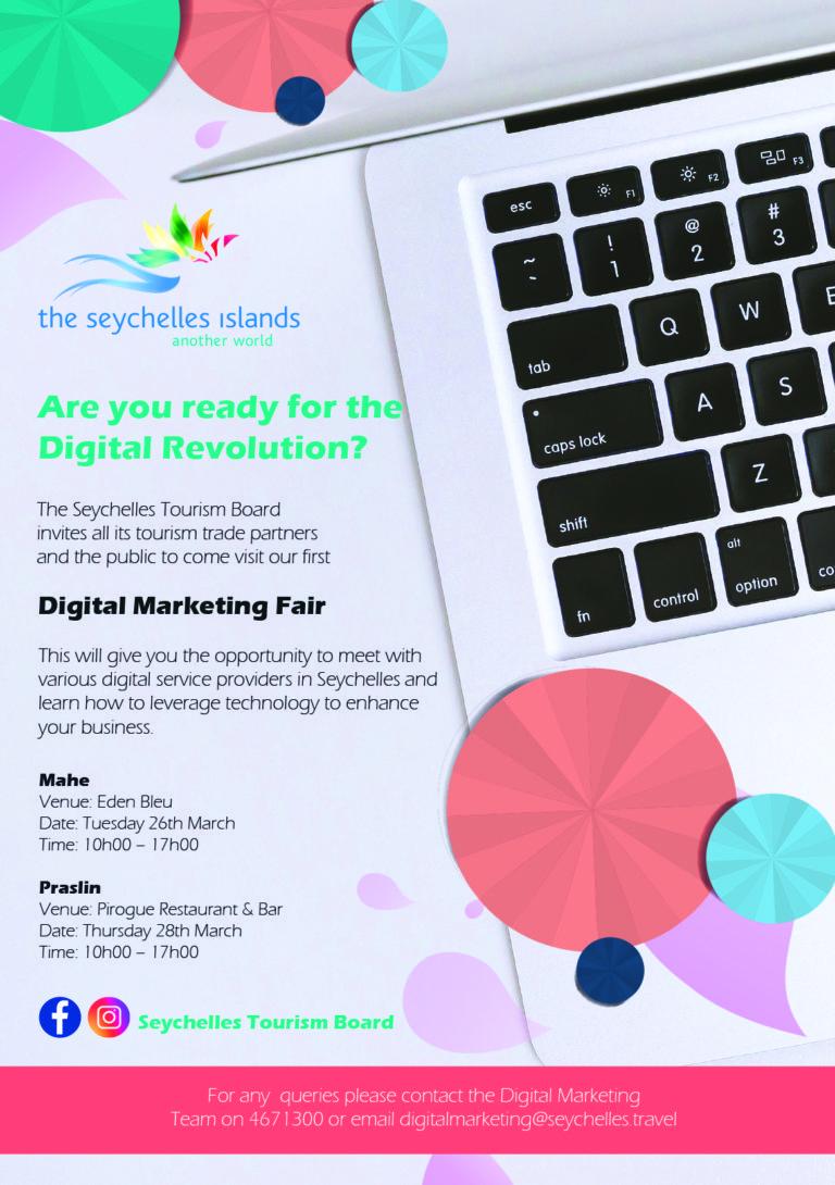, The Seychelles Tourism Board to host the first Digital Marketing Fair in Seychelles, World News | forimmediaterelease.net