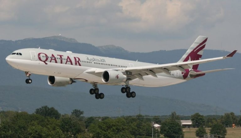 , What did Qatar Airways Flight 968 drop from radar and go on an erratic path?, World News | forimmediaterelease.net