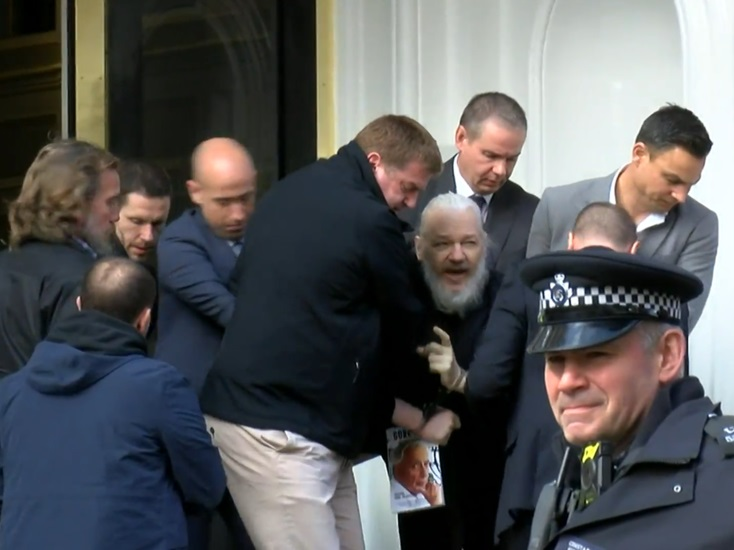 , WikiLeaks founder Assange arrested in London after Ecuador axes asylum deal, For Immediate Release | Official News Wire for the Travel Industry, For Immediate Release | Official News Wire for the Travel Industry