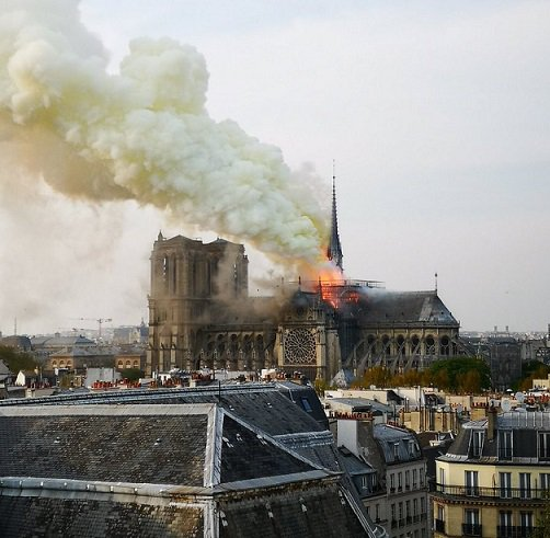 , Notre Dame cathedral inferno: Paris iconic tourist attraction on fire, World News | forimmediaterelease.net