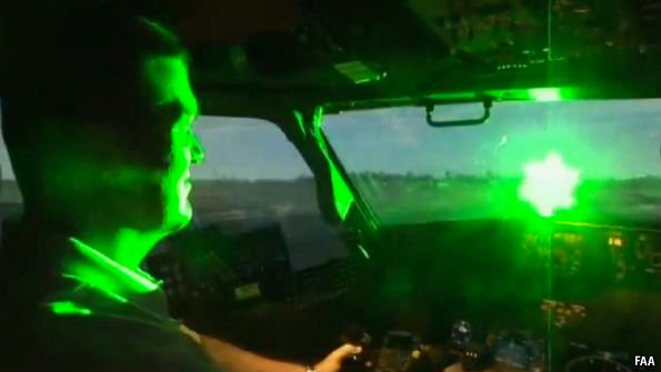 , The best way to stop laser strikes on aircraft, For Immediate Release , For Immediate Release
