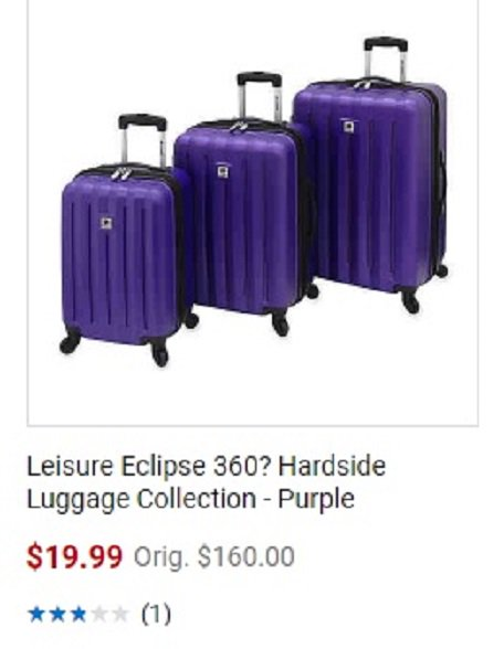 , The perplexing search for purplicious luggage and the perils of windmills, World News | forimmediaterelease.net