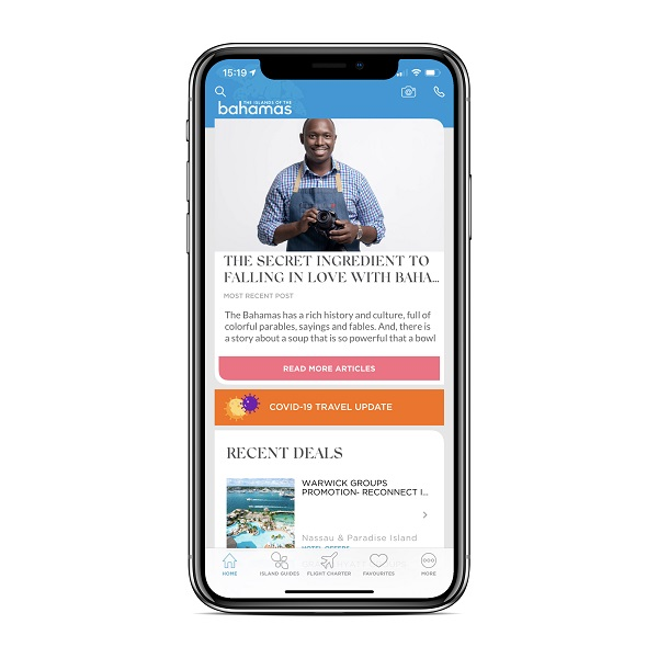 """The Islands Of The Bahamas, Bahamas Ministry of Tourism and Aviation Launches """"The Islands Of The Bahamas"""" Mobile App to Help Vacation Planning, For Immediate Release 